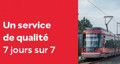 Accès engagement du service Rhônexpress