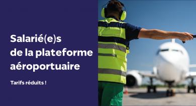 Accès salariés plateforme aéroportuaire